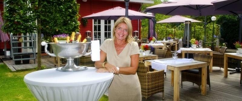 Sylvia van der Zwaard - Eigenaresse Hotel Restaurant Villa Lokeend