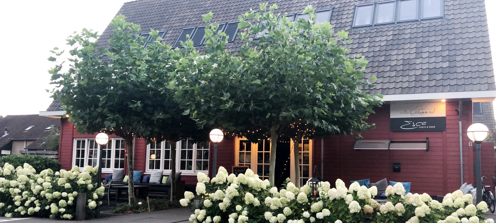 Hotel Villa Lokeend En Restaurant Esca In Vinkeveen